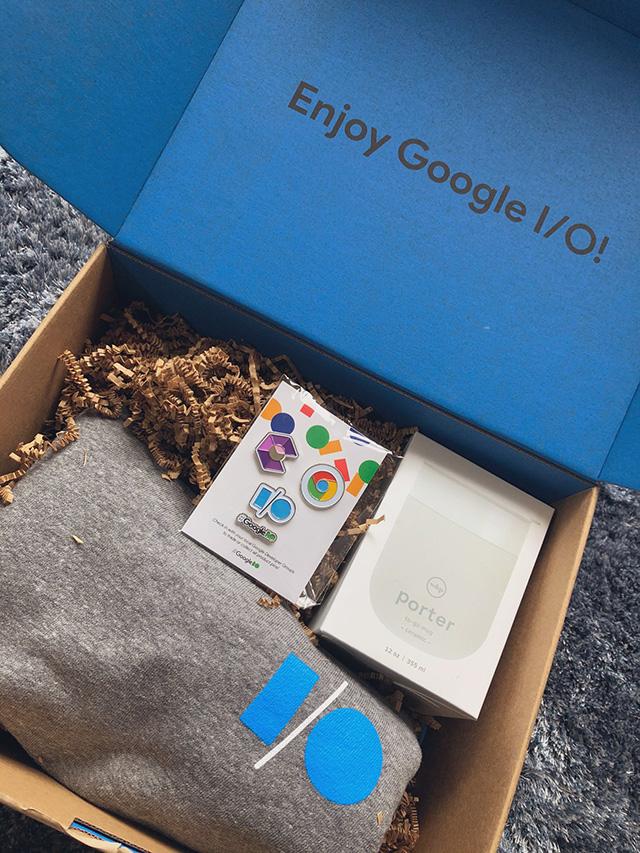 Google Sends Google I/O Swag To Some Developers