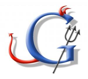 Google Evil Logo