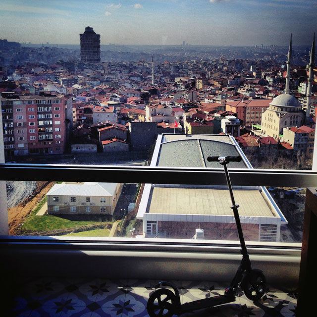 Google Istanbul Office View