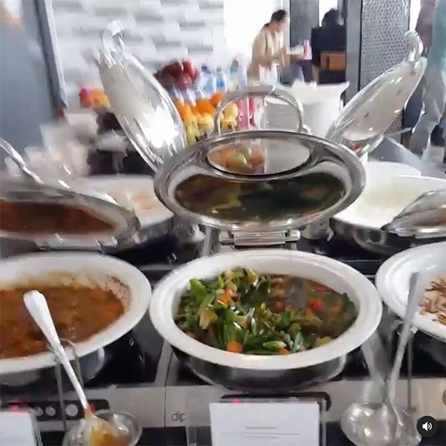 Google Jakarta Office Cafe Food