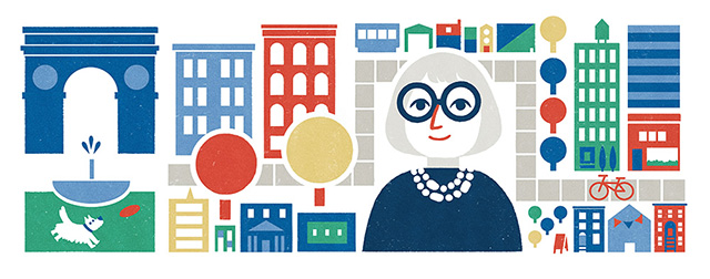 Google Jane Jacobs Logo