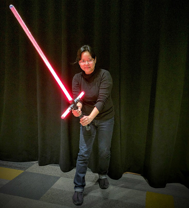 Google Jedi Lightsaber Training