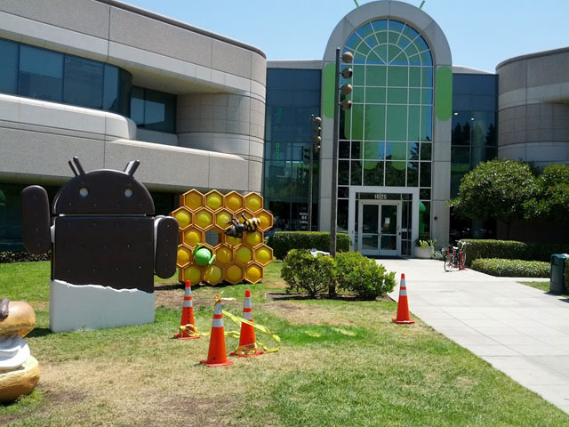 Google's Android Jelly Bean Statue Is Missing