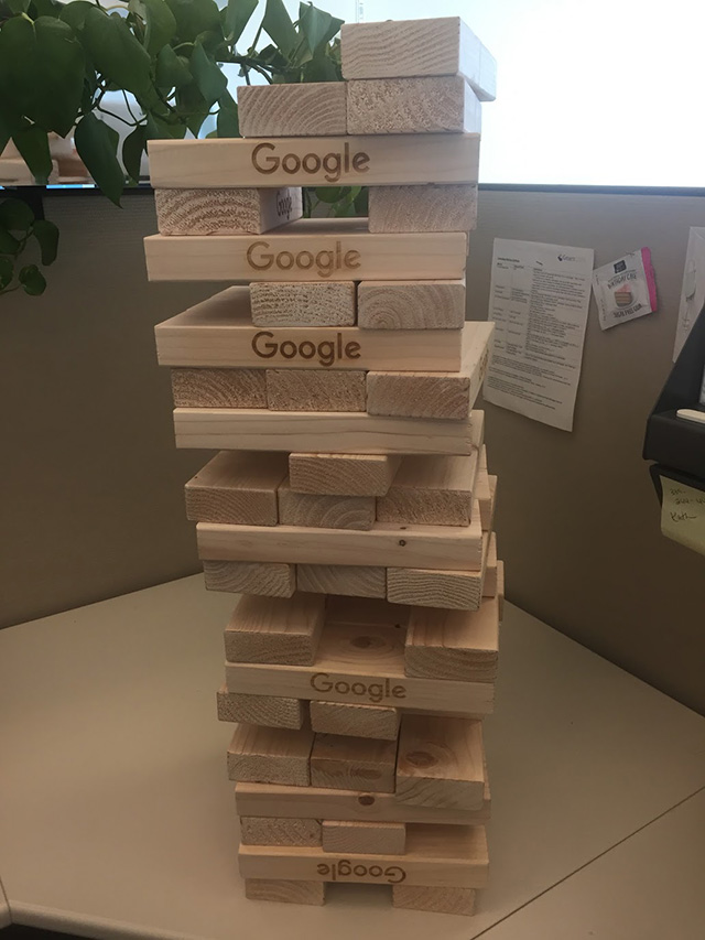 Google Jenga Game