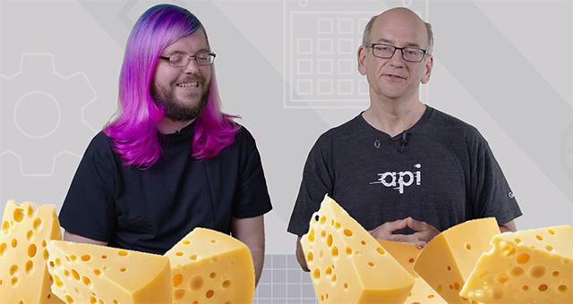 John Mueller and Martin Splitt Google Cheese