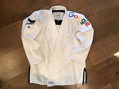 A Custom Google Kimono Jiu Jitsu Shirt