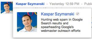 Google KAspar