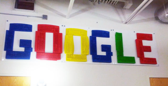 Google Keyboard Wall Logo