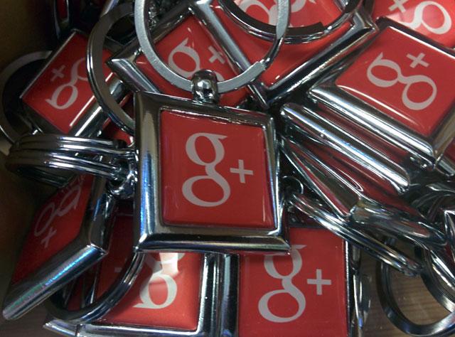 Google+ Keychains