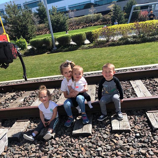 Google Kirkland Railroad Tracks
