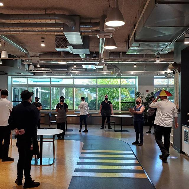 Google Kirkland Restaurant Now Open