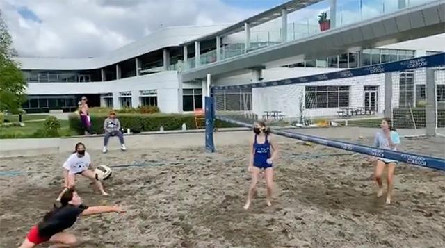 Google Kirkland Volleyball Match