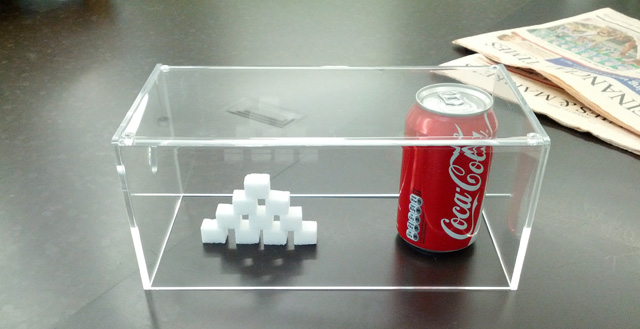 Google Kitchen Displays Cola In A Cube