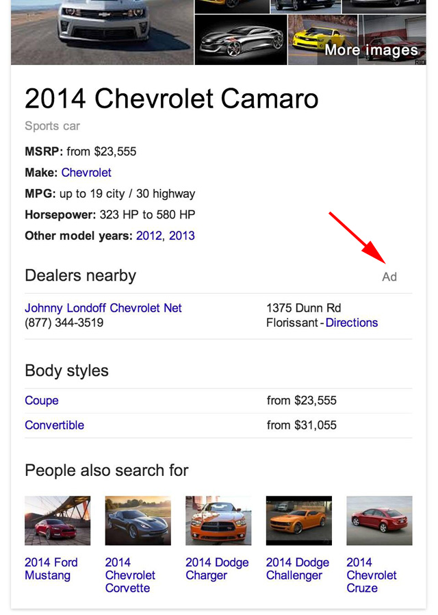 Google Knowledge Graph Ads