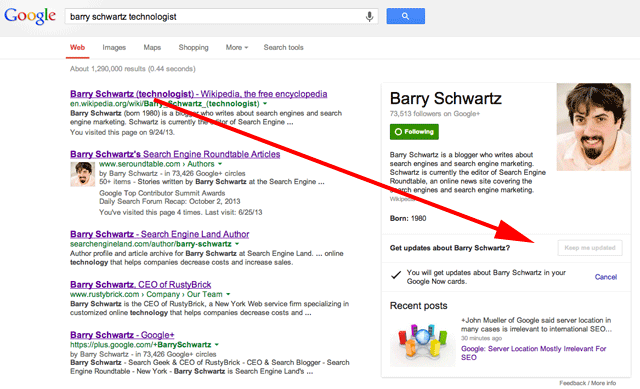barry schwartz technologist Google Now
