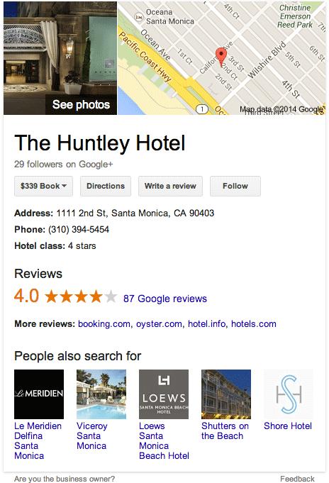 google knowledge local