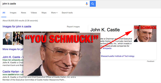 John K. Castle A Schmuck Google Knowledge Graph