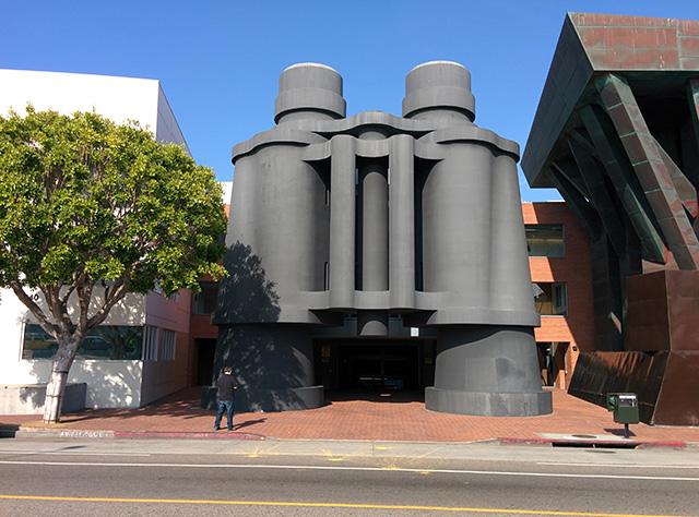 Google Los Angeles Binoculars Building