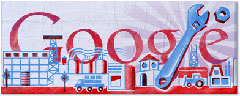 Google Labor Day Logo