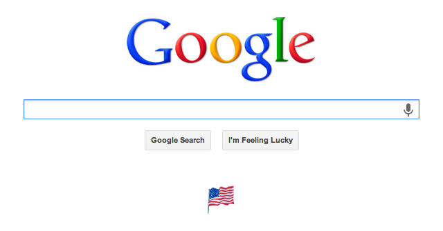 Google Labor Day Flag