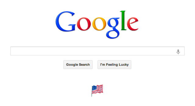 Google's Labor Day Flag