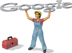 Labour Day Google Logo