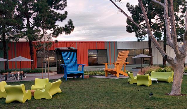 Google Has Large Furniture