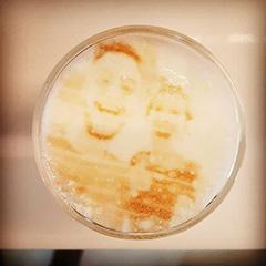 Google Office Has A Latte Machine That Prints Your Face