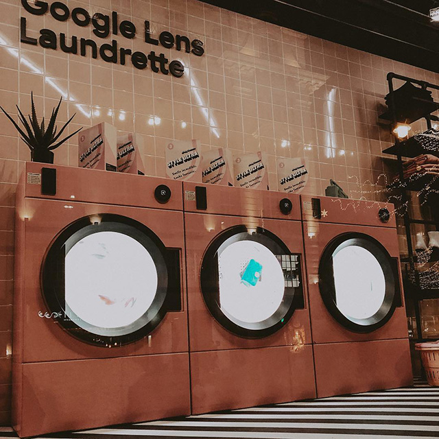 Google Laundry Room