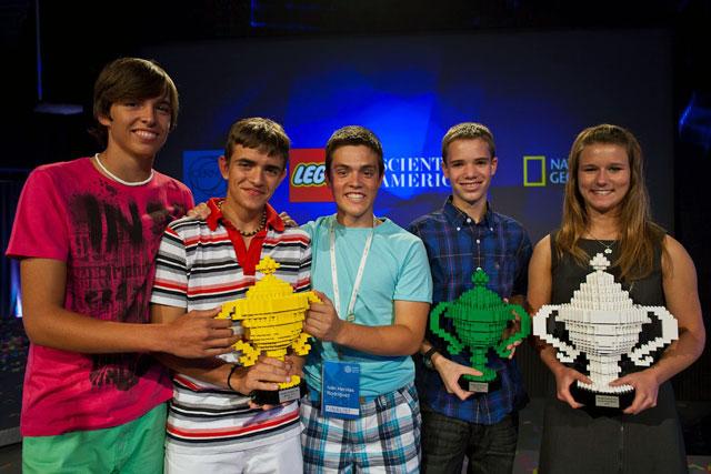 Google LEGO Trophies