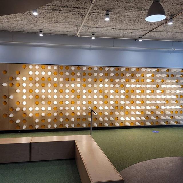 Google Kirkland Light Up Wall