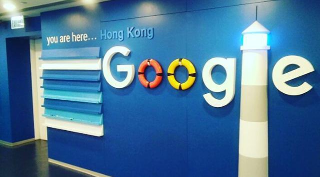 Google Lighthouse Wall Sign