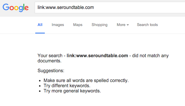 how to remove a link on google search