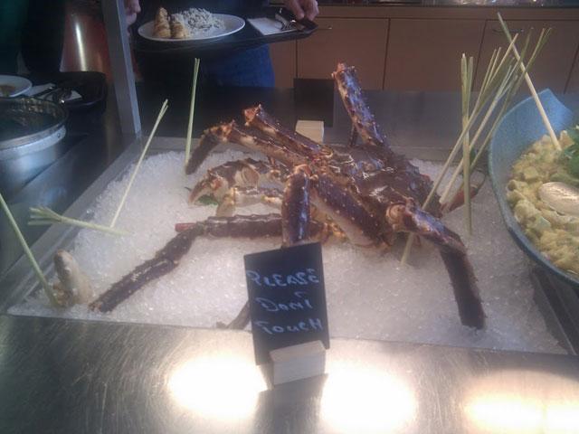 Google Zurich - crab