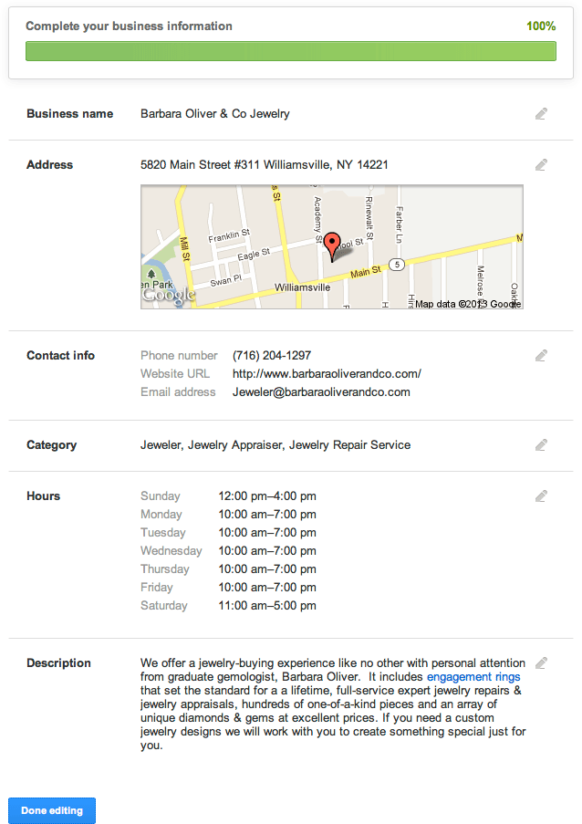 Google Places Local Business Management Update