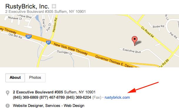 Google+ Local Link Broken