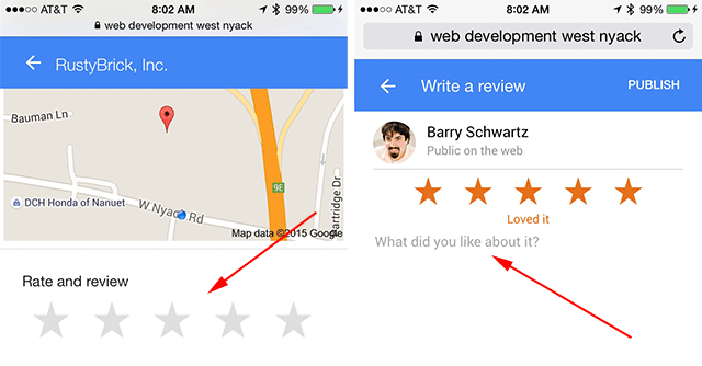 Mobile Users Can Now Add Reviews On Google Businesses