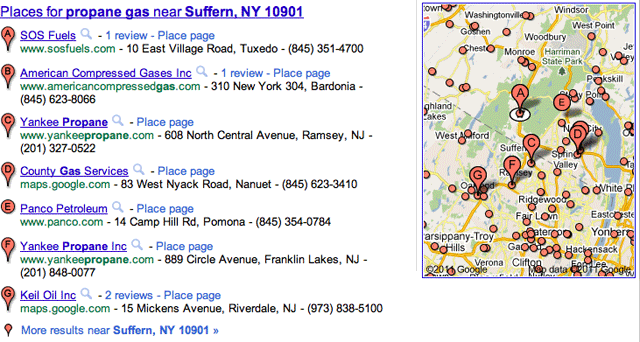 Google Local More Results Near...
