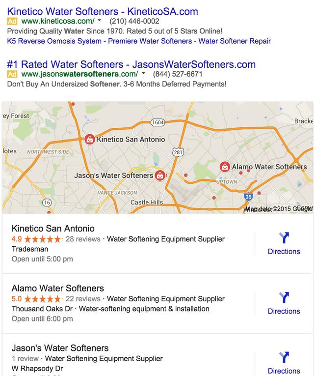 Google Testing New Local Mobile Interface On Desktop
