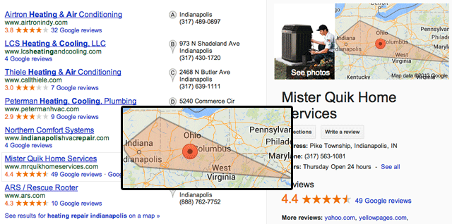 Google Highlights Local Services Areas Within Search Results
