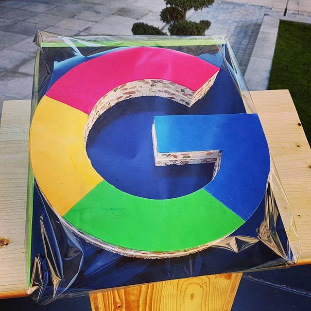 Google Logo Made Of Nougat