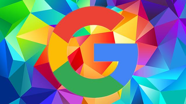 google logo pattern