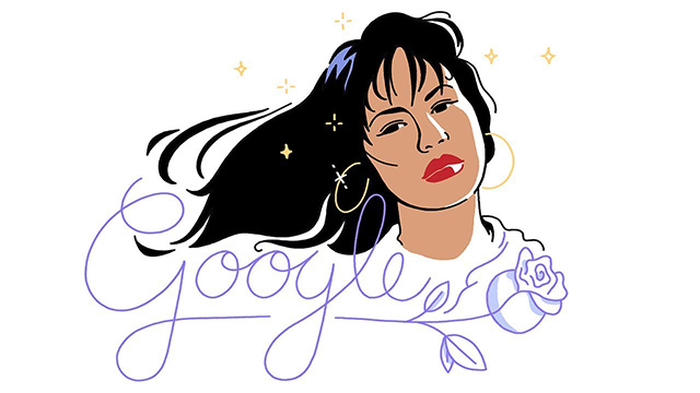 Selena Quintanilla Google Logo