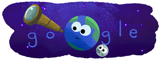 Google Doodle For NASA Exoplanet Discovery