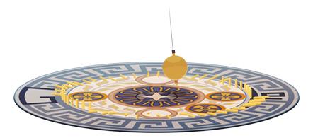 Léon Foucault Google Logo