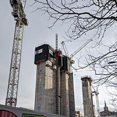 Google's Kings Cross Building Construction