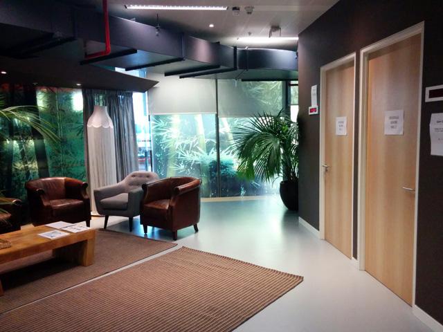 Google London Massage Rooms