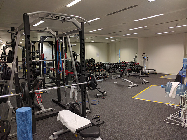 Google London Has A New Weight Training Room