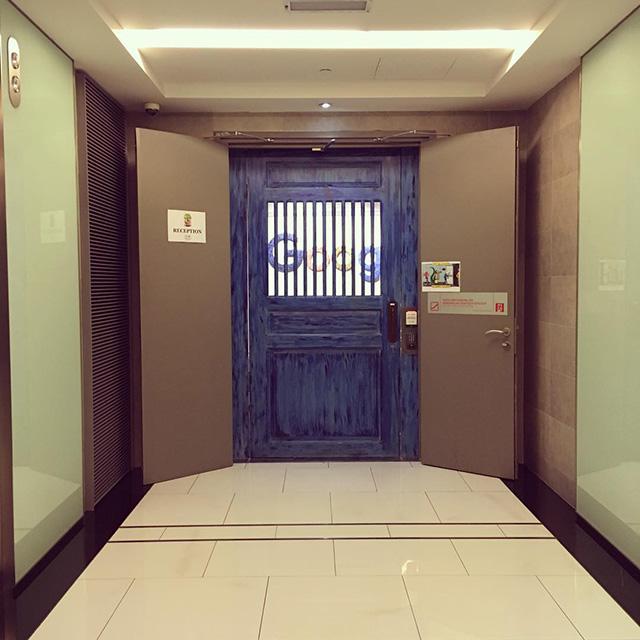 Creepy Wooden Door At Google Malaysia Office