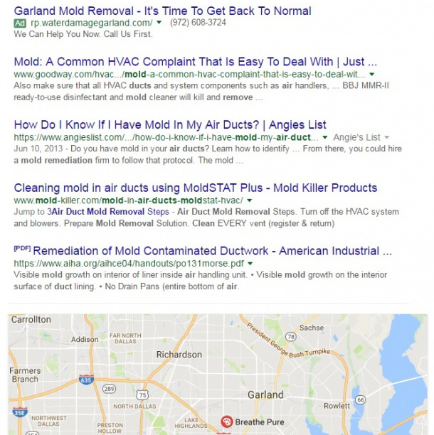 Google May Show Local Pack & Map At Bottom Of Web Listings